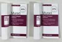 (2X) Murad Rapid Collagen Infusion Age Reform 0.125 oz. Sample/Travel Size Lot 2