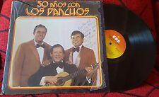 Latin Soul LOS PANCHOS **50 Años** SCARCE 1978 LP Venezuela DIFFERENT COVER***