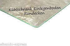 Kühlschrank Einlegeboden - B 50 cm x T 21 cm - Strukturglas mit Rundecken