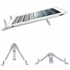 Portable Fold Aluminium Metal Desk Stand Holder For iPad 2 3 4 5 Android Tablet