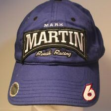 Mark Martin #6 Hat Cap Roush Racing Adjustable