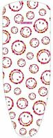 Leifheit 72396 Bügeltischbezug Cotton Class.Smiley Univ,140x45cm,bügelbrett