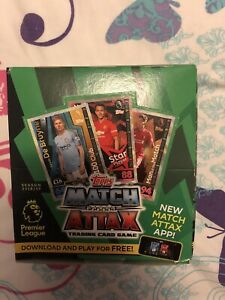 MATCH ATTAX 2018/19 1 SEALED BOX OF 24 SEALED PACKETS RRP £48