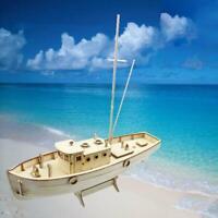 Schiffsmodell Montage Bausatz Aus Holz Segelboot 1:50 Maßstab Spielzeug