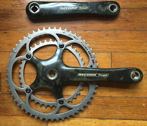 Campagnolo Record Carbon Square Taper Crankset 175mm
