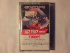 EUROPE Wings of tomorrow mc cassette k7 RARISSIMA SIGILLATA VERY RARE SEALED!!!