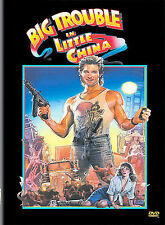 Big Trouble in Little China (DVD, 2002, Single Disc Widescreen and Pan  Scan)