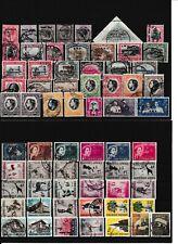 Südwestafrika - Sammlung gestempelt auf Steckkarten