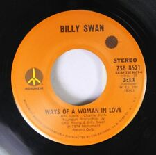 Rock 45 Billy Swan - Ways Of A Woman In Love / I Can Help On Monument