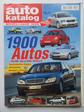Autokatalog - Modelljahr 1999, Nr 42