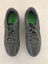 Kids Sneakers - Nike Kids Revolution 3 (GS), Cool Grey/ Green 4Y Big Kid M