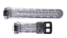 CASIO ORIGINAL REPLACEMENT WATCH BAND: 10148912  BG-169 Black Clear Baby-G Band