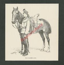 F. Myrbach K.u.K. Landesschütze Tirol Reiter Pferd Armee Österreich-Ungarn 1888