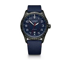 *BRAND NEW* Victorinox Swiss Army Men's Airboss Mechanic Blue Dial Watch 241820