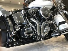 NEW LOUD MOUTH CHROME LAF HARLEY SOFTAIL FXS BLACKLINE FXSB BREAKOUT 2012-2017