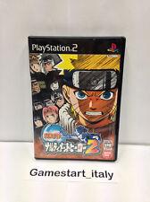 NARUTO NARUTIMETT HERO 2 - SONY PS2  SONY PLAYSTATION 2 - JAP VERSION-USED SALE