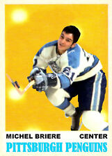 Custom made OPC 1970-71 Pittsburgh Penguins  Michel Briere Hockey  card