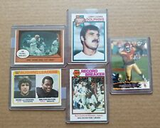 1961 to 2006 Topps Press Pass Walter Payton Jimmy Brown NFL Football Cards Lot