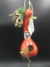 Painted  Gourd Birdhouse, OKLAHOMA SOONERS Christmas/Anytime Gift
