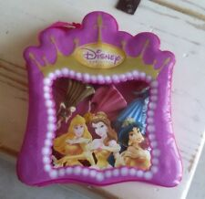 8 Pcs. Disney Princess Figurines/Backpack Carrying Case