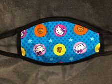 New Hello Kitty Reusable Face Mask Women's Double Layer Women's Adult CUTE