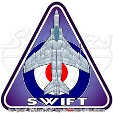 Supermarine SWIFT RAF Vickers-Armstrongs Aeronautica Militare Britannica Adesivo