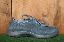 DANSKO 'Elaine' Blue Suede Nursing Shoes Sneakers EUR 41 | Approx. US 10