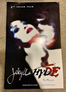 Broadway Jekyll And Hyde 1997 Poster