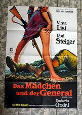 MÄDCHEN UND DER GENERAL * STEIGER, LISI - A1-FILMPOSTER German 1-Sheet ´67