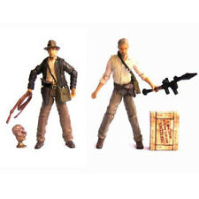 Lot 2 INDIANA JONES Kingdom of the Crystal Skull 3.75in. Figure Toys Gift
