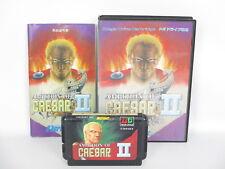 AMBITION OF CAESAR II 2 ref/C Mega Drive Sega md