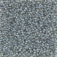Toho Size 11/0 Seed Beads Transparent Lustered Black Diamond 8.2g (L35/2)
