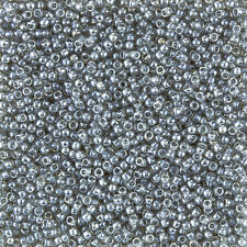 Toho Size 11/0 Seed Beads Transparent Lustered Black Diamond 8.2g (L35/2)
