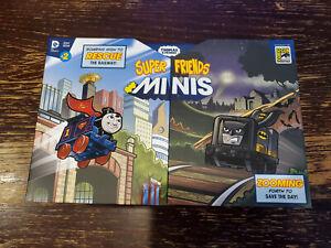 2016 SDCC Exclusive Thomas Super Friends Minis Batman SupermanDC Comics