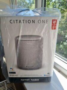 Harmon Kardon Citation One Smart Home Speaker Bluetooth Google Apple Airplay New