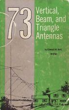 73 Vertical, Beam, and Triangle Antennas - E.M. Noll - Ham Radio Aerial - CD