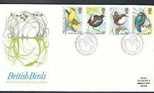 GB / UK FDC 1980 British Birds Swan pmk