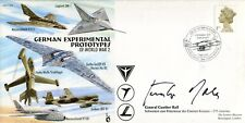 WW2 Luftwaffe ace & Knight's Cross GUNTHER RALL KC signed cover