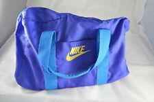 Vintage VTG Nike Duffle Bag Purple Blue Yellow 90s 1990s