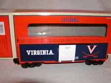 Lionel 6-39283 Virginia University Box Car O 027 New Cavaliers 2007 College