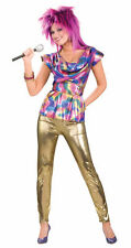 80'S VIDEO STAR PUNK SUPERSTAR ADULT HALLOWEEN COSTUME WOMEN'S SIZE STANDARD