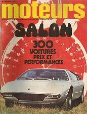 MOTEURS 91 1971 FIAT 127 FIAT 130 MERCEDES 350 SLC BMW 3.0 CS R17 TL GP ITALIE