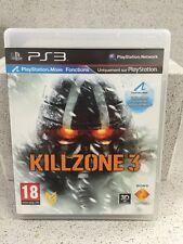KILLZONE 3. JEUX PS3 AVEC NOTICE PLAYSTATION