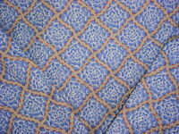 Scalamandre DQ 00031946 Beckford FH Blue Drapery Upholstery Fabric