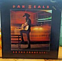 Dan Seals ~ On The Frontline, 1986 EMI 80s Rock Country Vinyl Record Album
