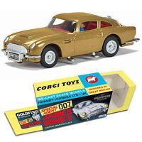 CORGI CC04203G GOLD Aston Martin DB5 model 50th Anniversary 007 BOND GOLDFINGER