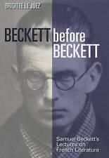 Beckett Before Beckett-ExLibrary