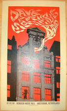 2009 DAVE MATTHEWS BAND AMSTERDAM RED LIGHT DISTRICT CONCERT POSTER 7/7 BONUS MT