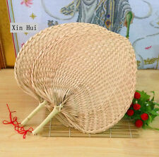 Chinese Artwork Vintage Handicraft 100% Handmade Weaving Fan Palm Natural Leaf
