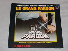 45 tours BO - LE GRAND PARDON - S. FRANKLIN - A. ARCADY - 1982